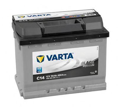 Аккумулятор 56Ач Black Dynamic VARTA 5564000483122