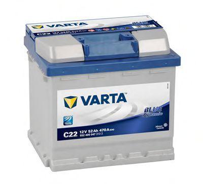 Изображение Аккумулятор 52Ач Blue Dynamic VARTA 5524000473132: описание