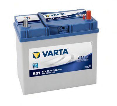 Аккумулятор 45Ач Blue Dynamic VARTA 5451550333132