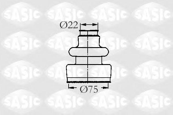 Пыльник ШРУС SASIC 2933593
