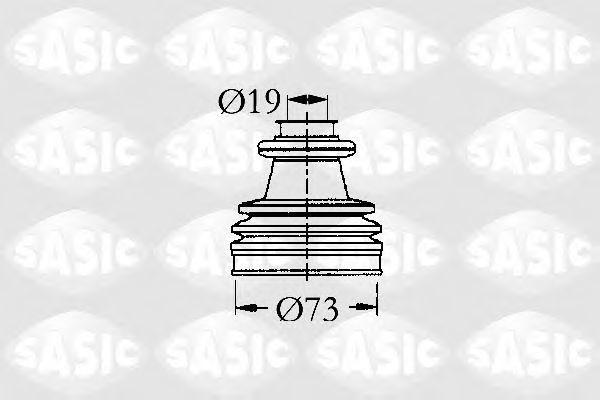Пыльник рулевой рейки SASIC 2933813