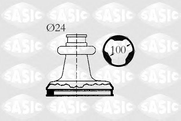 Комплект пылника, приводной вал SASIC 2003411