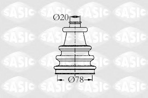 Пыльник ШРУС SASIC 2933743