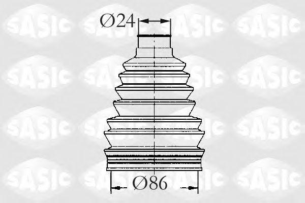 Пыльник ШРУС SASIC 2933053