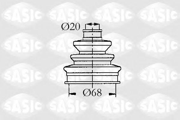Пыльник ШРУС SASIC 9004687