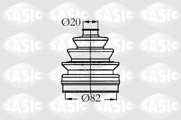 Пыльник ШРУС SASIC 2933833