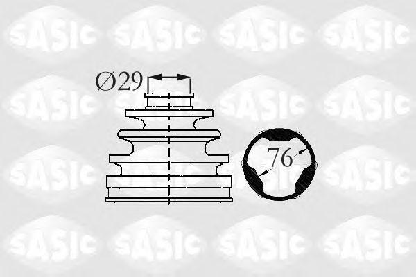 Пыльник ШРУС SASIC 2873883