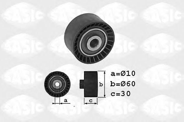 Паразитный / Ведущий ролик, зубчатый ремень SASIC 1700010