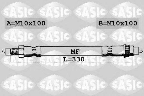 Шланг тормозной SASIC SBH0174