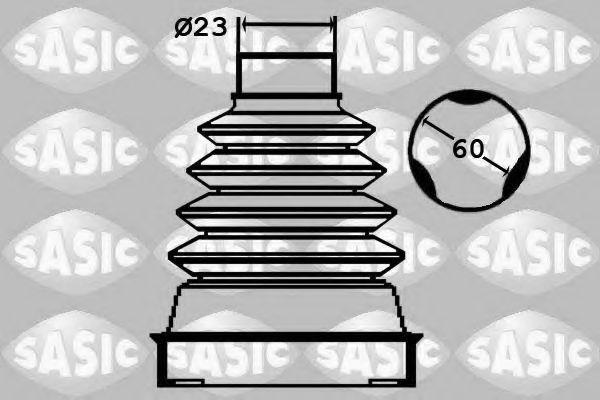 Пыльник приводного вала SASIC 1904042
