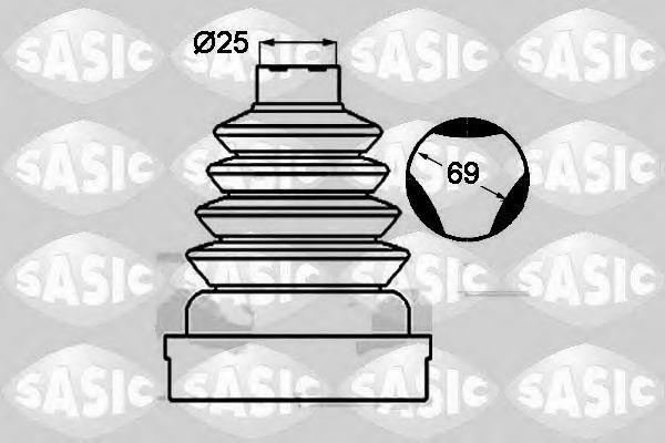 Пыльник ШРУС SASIC 1904023