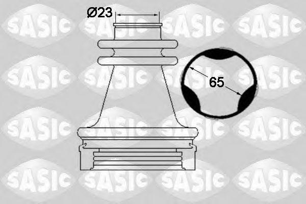 Пыльник ШРУС SASIC 1904035
