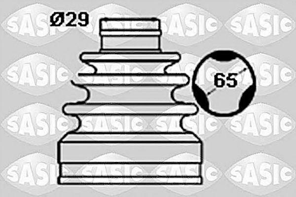 Пыльник ШРУС SASIC 1906060