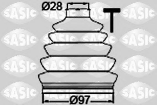 Пыльник ШРУС SASIC 1906061