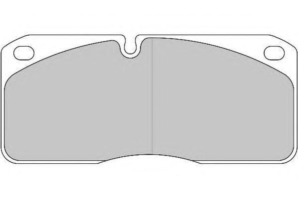 Колодки тормозные грузовые BERAL 2906722004034754