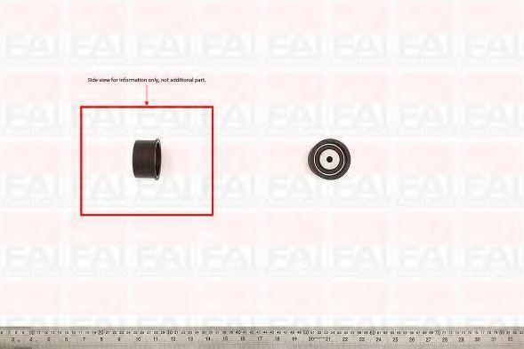 Паразитный / Ведущий ролик, зубчатый ремень APA T9259