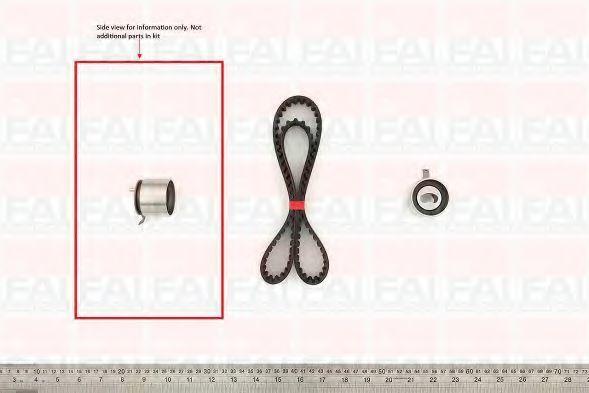 Комплект ремня ГРМ FAI TBK61