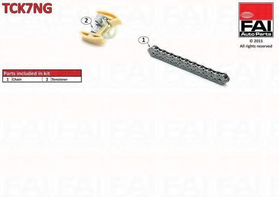 Ремкомплект цепи ГРМ FAI TCK7NG