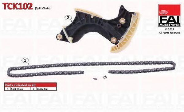 Ремкомплект цепи ГРМ FAI TCK102