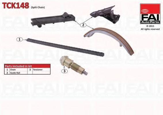 Ремкомплект цепи ГРМ FAI TCK148