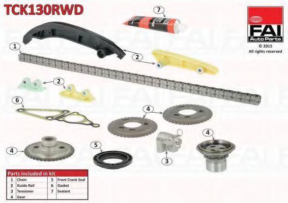 Комплект цели привода распредвала APA TCK130RWD
