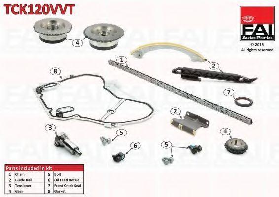 Комплект цели привода распредвала APA TCK120VVT