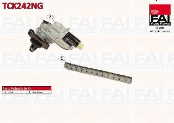 Ремкомплект цепи ГРМ FAI TCK242NG