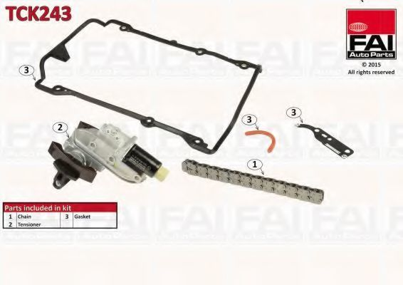 Комплект цели привода распредвала FAI TCK243