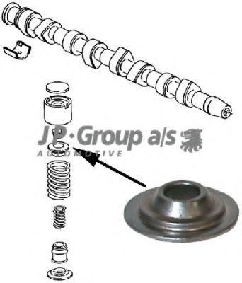 Стопор пружины клапана JP GROUP 1111352600