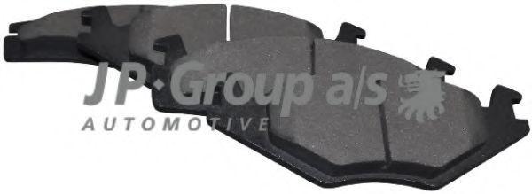 Колодки тормозные JP GROUP 1163600510