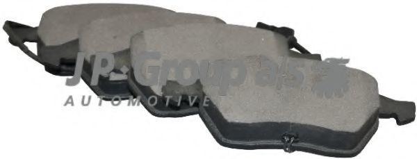 Колодки тормозные JP GROUP 1163602510  - купить со скидкой