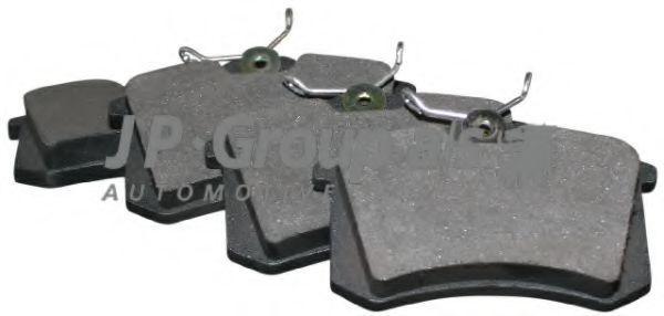 Колодки тормозные JP GROUP 1163705310