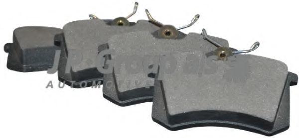 Колодки тормозные JP GROUP 1163706310
