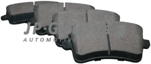 Колодки тормозные JP GROUP 1163706810