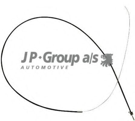 Трос замка капота JP GROUP 1170700900