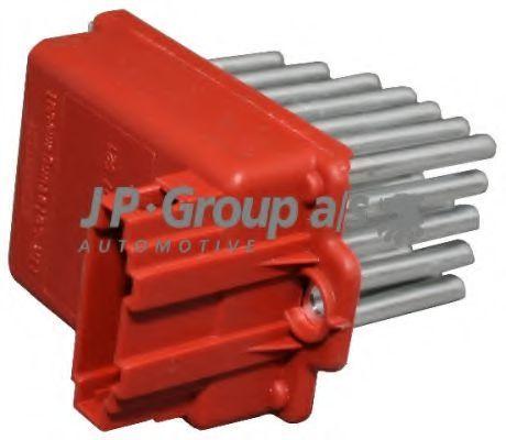 Резистор вентилятора отопителя JP GROUP 1196850500