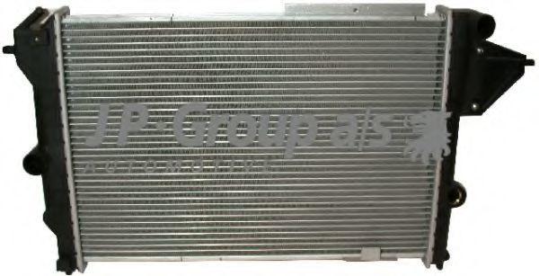 Радиатор охлаждения двигателя JP GROUP 12 14 201 100