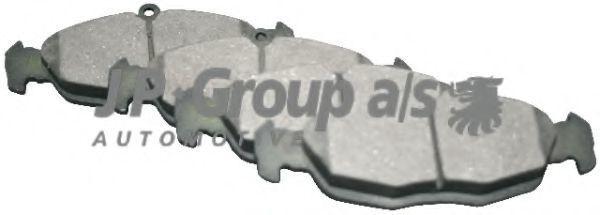 Колодки тормозные JP GROUP 1263600810