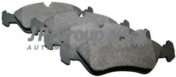 Колодки тормозные JP GROUP 1263600910