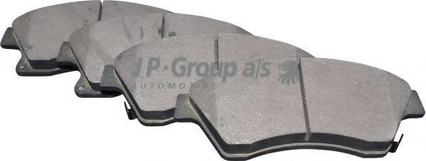 Колодки тормозные JP GROUP 1263602510