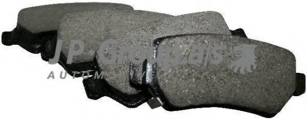 Колодки тормозные JP GROUP 1263700110