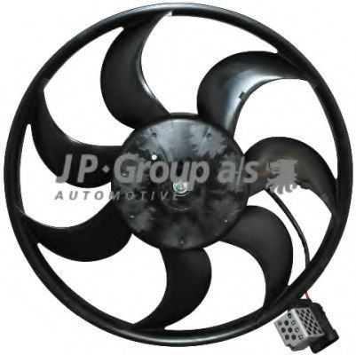 Вентилятор охлаждения радиатора JP GROUP 1299101000