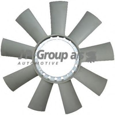 Крыльчатка вентилятора охлаждения двигателя JP GROUP 1314900900