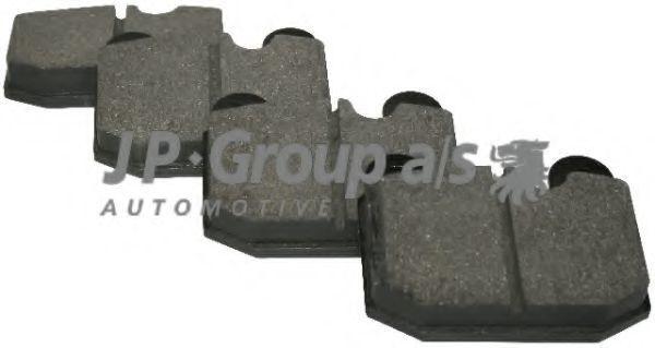 Колодки тормозные JP GROUP 1463600110