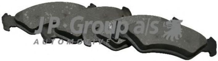 Колодки тормозные JP GROUP 1563601510