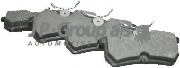 Колодки тормозные дисковые JP GROUP 1563700410