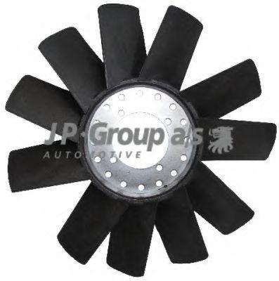 Крыльчатка вентилятора охлаждения двигателя JP GROUP 1599100100