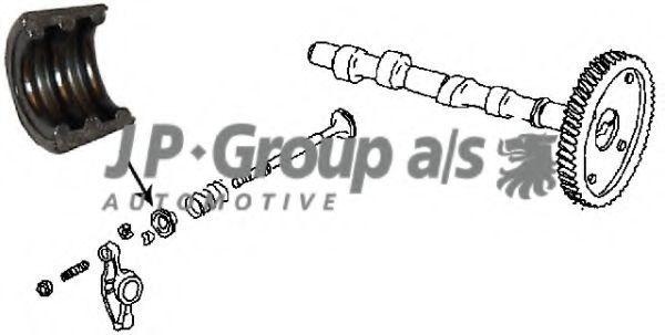 Сухарь клапана JP GROUP 8111350406