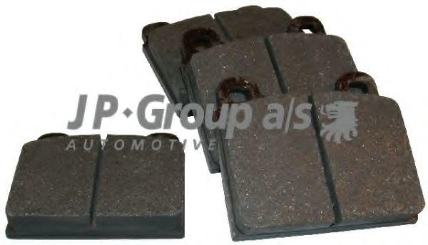 Накладки тормозные JP GROUP 8163601010