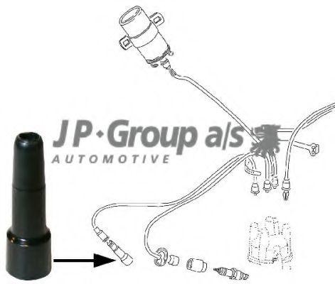 Наконечник провода высоковольтного JP GROUP 8191900106